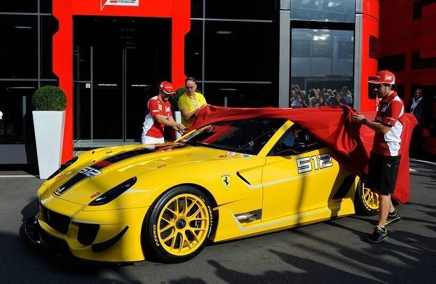 Ferrari 599XX na Monzy /Reporter