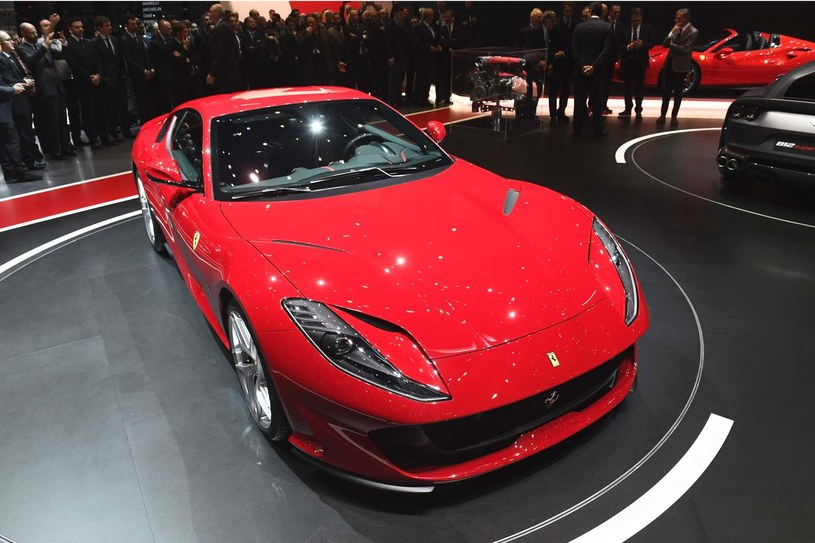 Ferrari 812 superfast /AFP