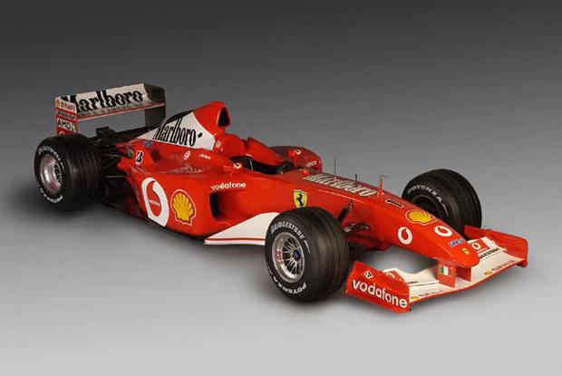 Ferrari F2002 (kliknij) /INTERIA.PL