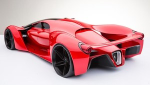 Ferrari F80 - obłędne i nierealne