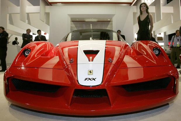 Ferrari FXX / kliknij /AFP