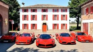 Ferrari rusza z kopyta