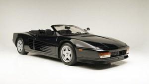 Ferrari Testarossa - ikona z plakatu