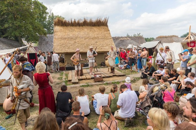 Festiwal Słowian i Wikingów/fot. Robert Stachnik /Reporter
