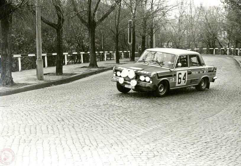 Fiat 125p na trasie jednego z rajdów /Archiwum Akt Nowych