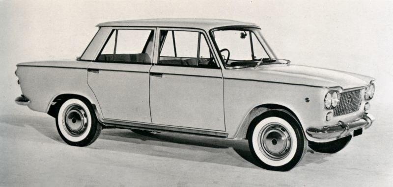 Fiat 1300/1500, który miał być produkowany w Polsce /