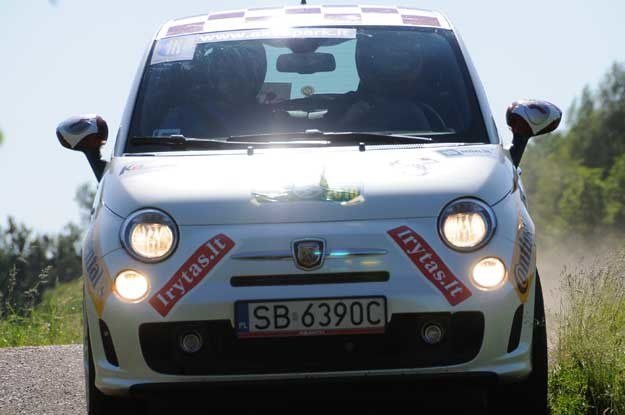 Fiat 500 abarth załogi INTERIA.PL Fot. Algimantas Brazaitis /