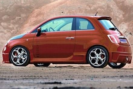 Fiat 500 TRC / Kliknij /INTERIA.PL