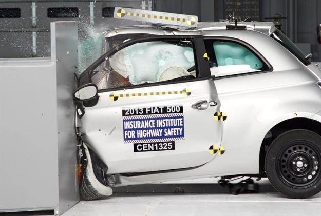 Fiat 500 uzyskał słaby wynik /