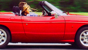 Fiat Barchetta (2003) - na asfaltowym jeziorze...