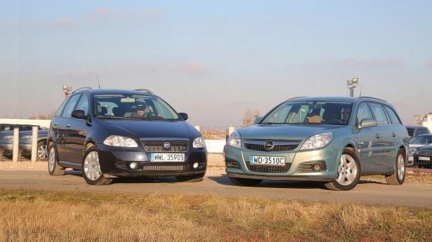 Fiat Croma II i Opel Vectra C mają różne nadwozia, ale wspólne geny. /Motor