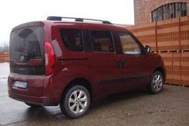 Fiat Doblo pierwsza jazda