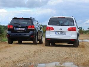 Fiat Freemont i Volkswagen Cross Touran - najlepsze vany na bezdroża. /Motor