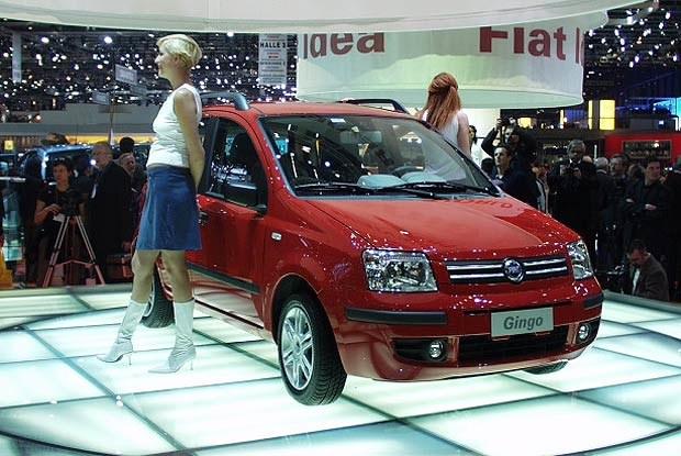 Fiat Gingo (kliknij) /INTERIA.PL