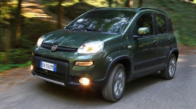 Fiat Panda 4x4 - jedyne takie auto z napędem na cztery koła. /Fiat