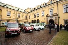 Fiat przekazał samochody do obsługi Światowych Dni Młodzieży