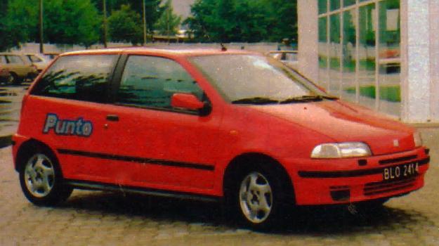 Fiat Punto GT /Motor