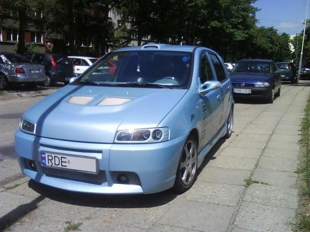 Fiat punto plastik tuning