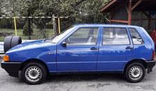 Fiat Uno, wersja full golas, czyli nie ma nic, o czym pomyślisz