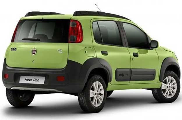 Fiat uno z Brazylii /