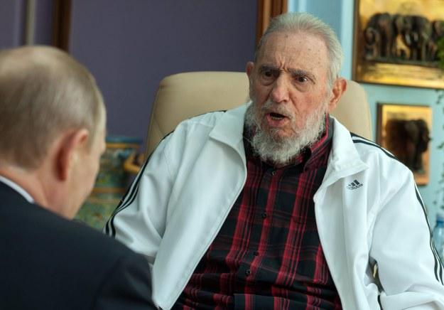 Fidel Castro /Cubadebate / Alex Castro    /PAP/EPA
