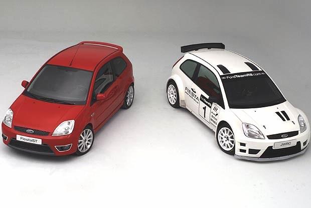 Fiesta ST i Junior WRC (kliknij) /INTERIA.PL