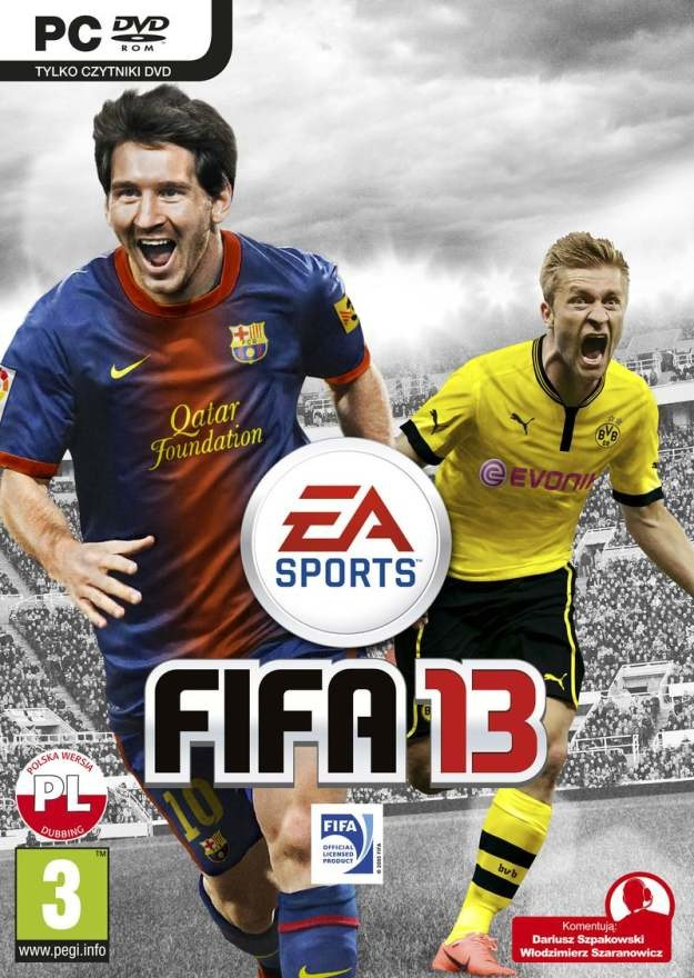 FIFA 13 to najnowsza odsłona jednej z najpopularniejszych serii piłkarskich gier wideo na świecie /Informacja prasowa