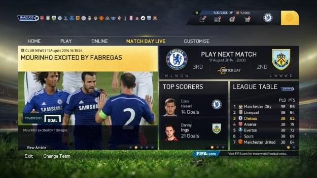 FIFA 15 /materiały prasowe
