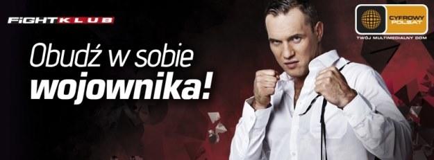 FightKlub - nowy kanał w ofercie Cyfrowego Polsatu /materiały prasowe
