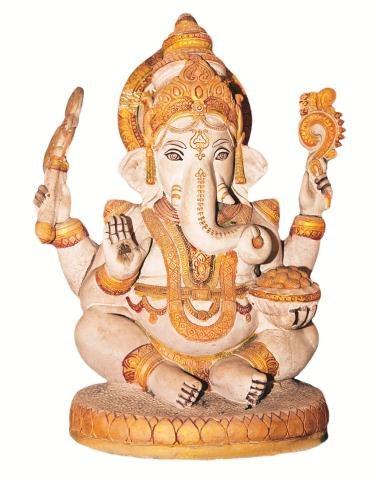 Figurka  boga Ganeshy przynosi szczęście. /123/RF PICSEL