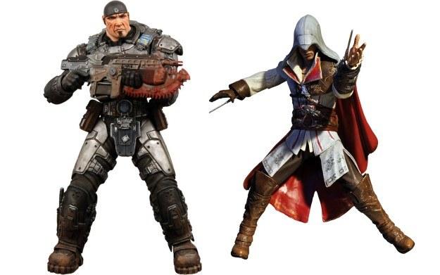 Figurki Marcusa Fenixa i Ezio Auditore /Informacja prasowa