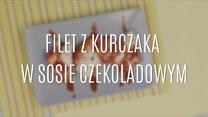 Filet z kurczaka w sosie czekoladowym