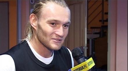"Filip Drzewiecki, napastnik ""Pasów"" /INTERIA.PL"