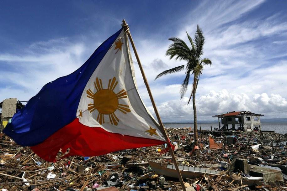 Filipiny - krajobraz po przejściu tajfunu Haiyan / MAST IRHAM  /PAP/EPA