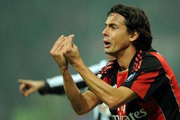 Filippo Inzaghi, snajper AC Milan /AFP