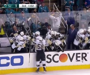 Finał NHL: San Jose Sharks - Pittsburgh Penguins 1-3. Skrót meczu