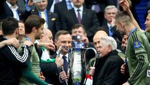 Finał Pucharu Polski: frustrat z racą w dłoniach nie zatrzyma Zbigniewa Bońka