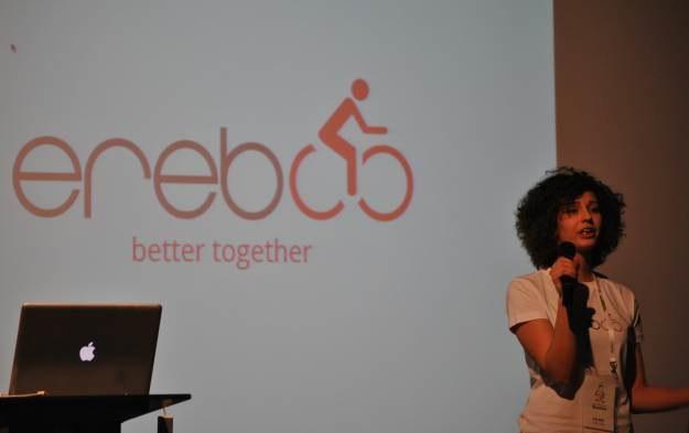 Finałowa prezentacja projektu Ereboo, który ma ułatwić poszukiwania kompana do uprawiania sportu /INTERIA.PL