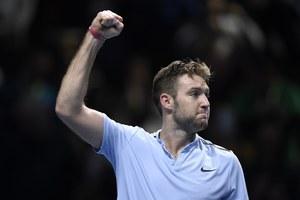 Finały ATP: Jack Sock - Marin Czilić 5:7, 6:2, 7:6 (7-4)
