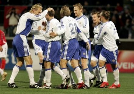 Finlandia skromnie pokonała Armenię /AFP