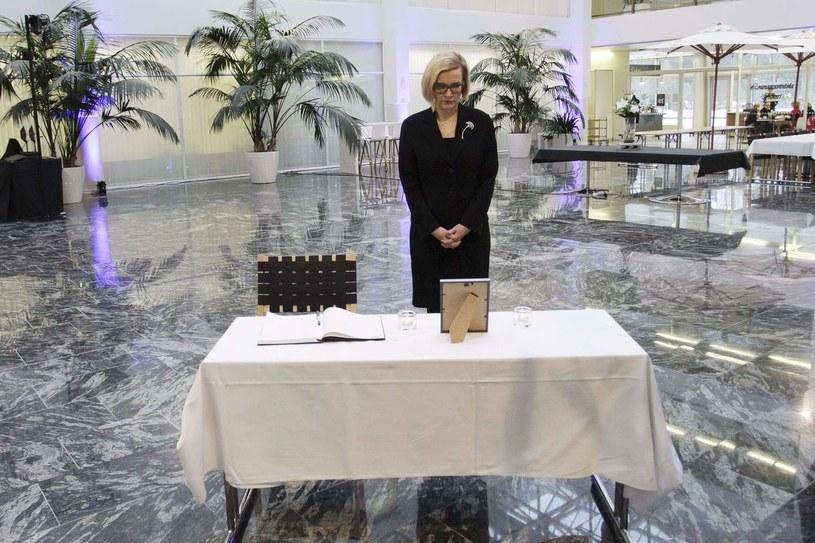 Fińska minister spraw wewnętrznych Paula Risikko /AFP