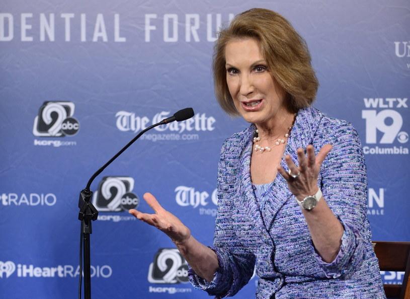 Fiorina zwyciężczynią pierwszej debaty Republikanów /PAP/EPA