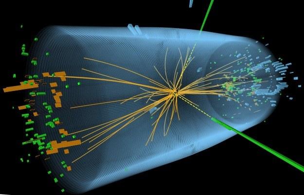 Fizycy mają ponad 99 proc. pewności, że udało się wykryć bozon Higgsa /AFP