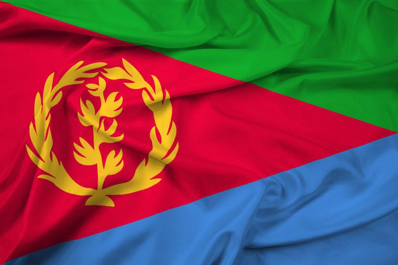 Flaga Erytrei /123/RF PICSEL