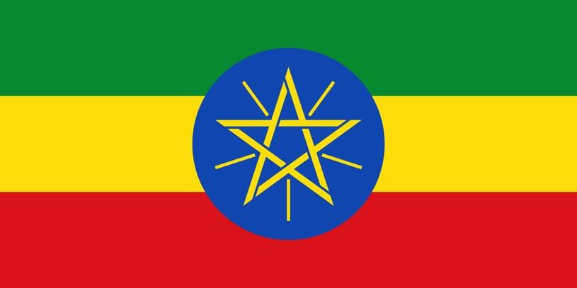 Flaga Etiopii /123/RF PICSEL