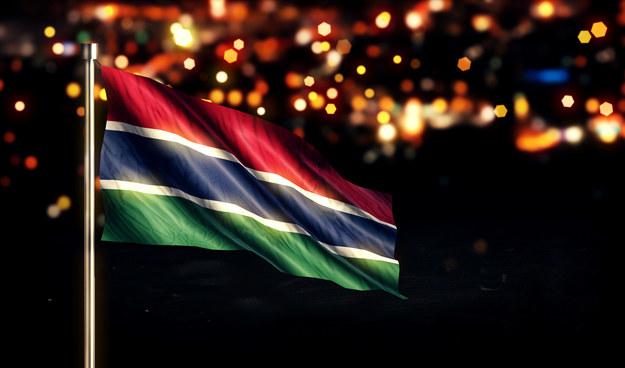 Flaga Gambii /123/RF PICSEL