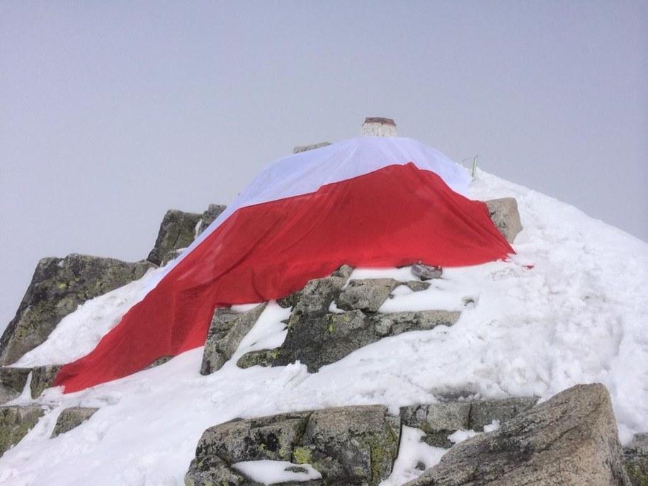 Flaga na Rysach /RMF FM