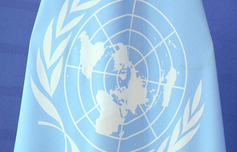 Flaga ONZ, zdj. ilustracyjne /AFP