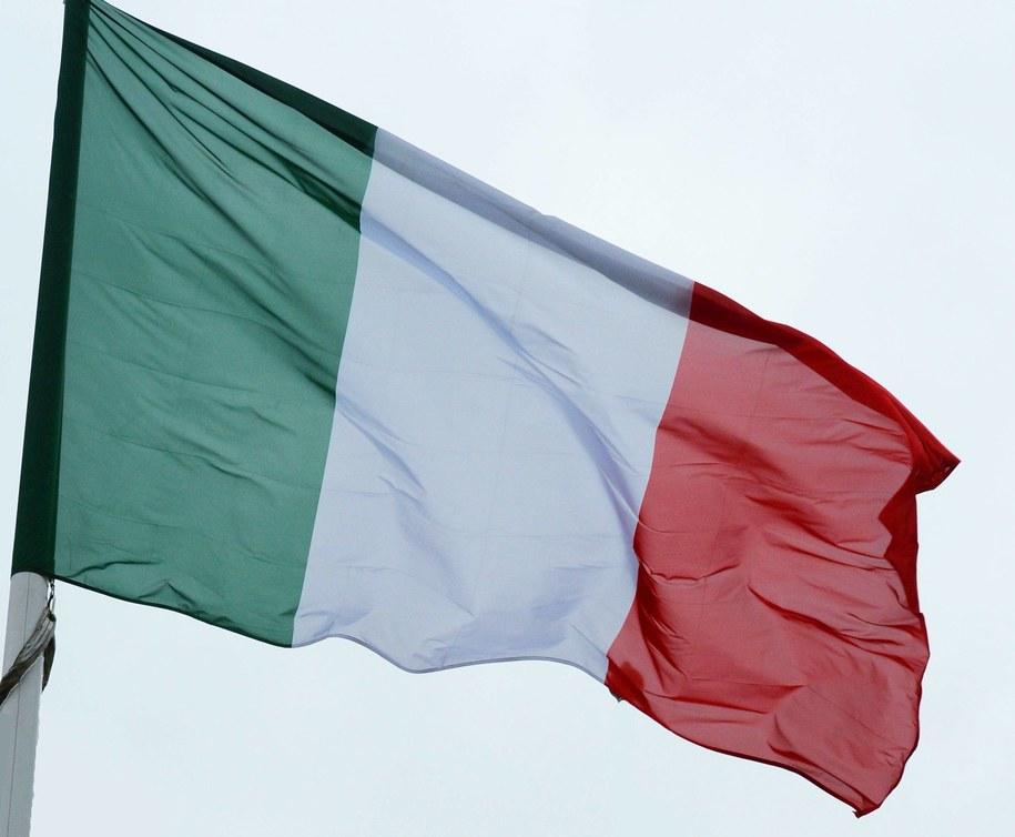 Flaga Włoch /WINFRIED ROTHERMEL /PAP/EPA