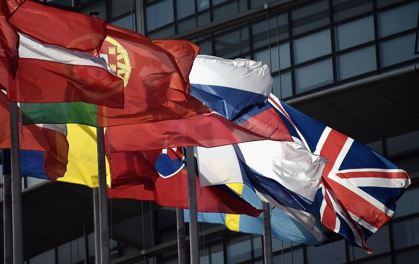 Flagi państw członkowskich /AFP /East News